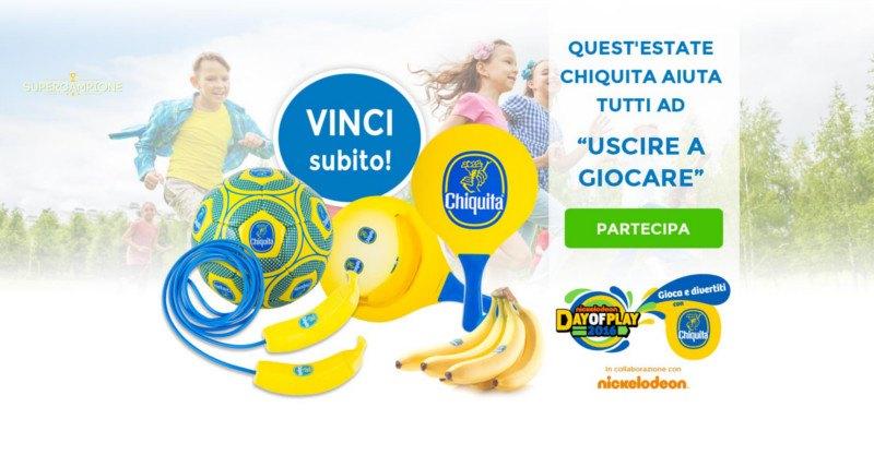 Supercampione - Concorso Chiquita: vinci un viaggio a Madrid