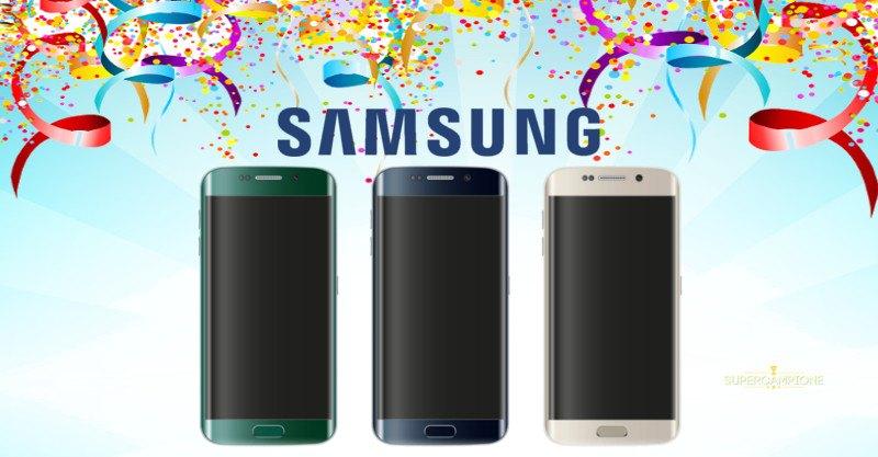 Vinci un Samsung Galaxy S6