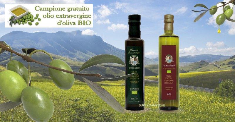 Campione olio d'oliva BIO