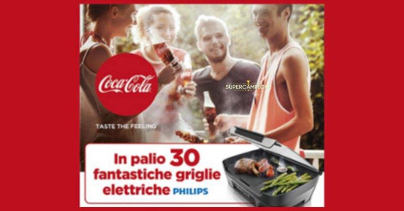 Coca-Cola: 30 griglie elettriche