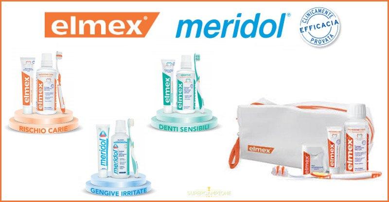 Elmex e Meridol: set di igiene orale gratis