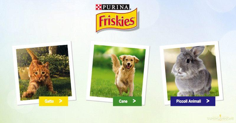 Friskies: omaggio croccantini cane o gatto