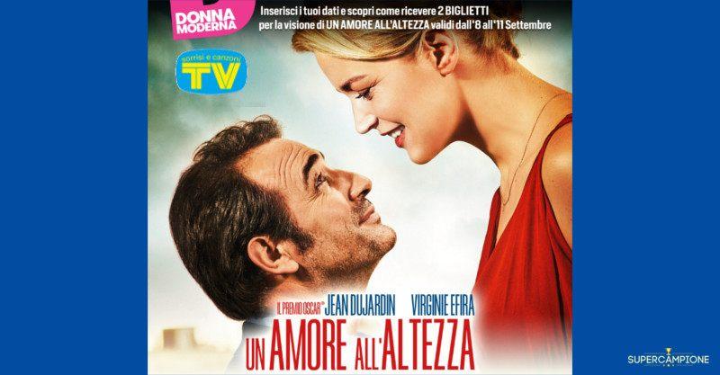 """Biglietti gratis film """"Un amore all'altezza"""""""
