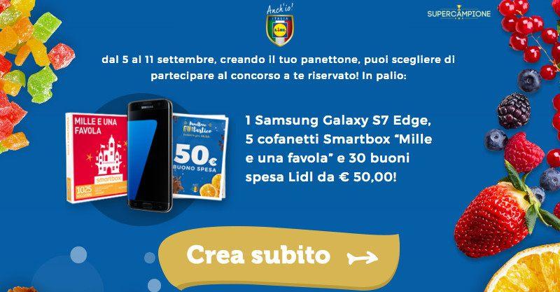 Concorso LIDL: vinci Samsung S7, Smartbox e buoni spesa