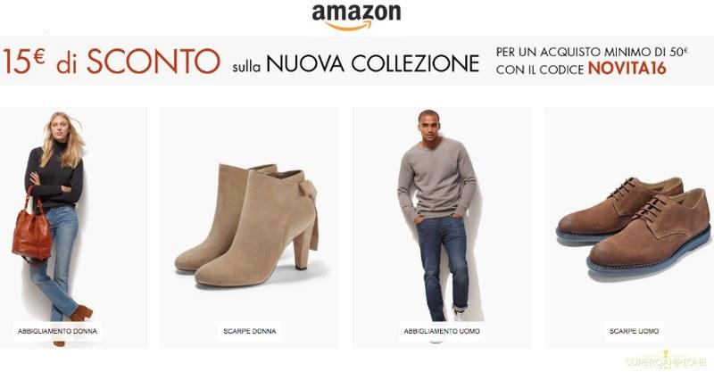 Codice sconto Amazon di 15€
