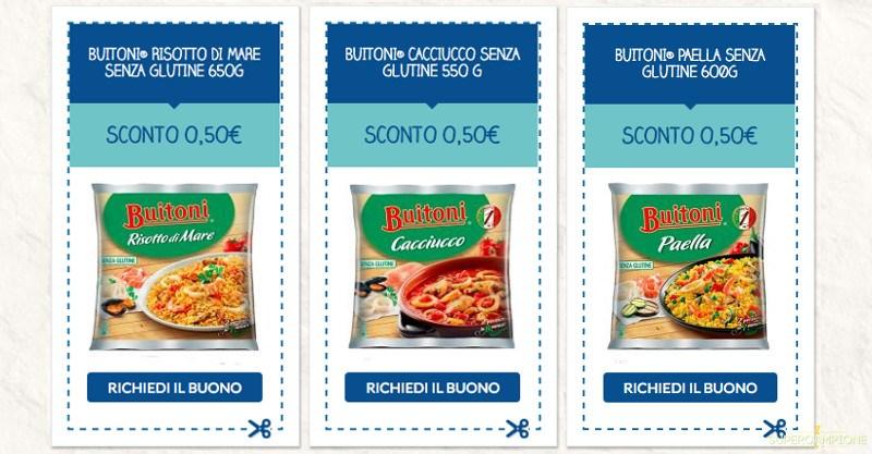 Buoni spesa Buitoni da 0,50€
