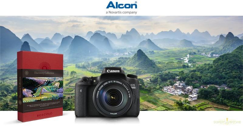 Vinci macchina fotografica Canon e buoni cinema