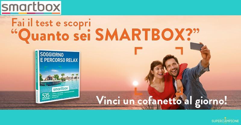 Supercampione - Vinci un cofanetto Smartbox al giorno