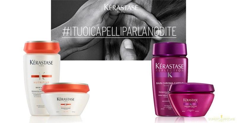 Check-up capillare gratis e campioni omaggio Kérastase