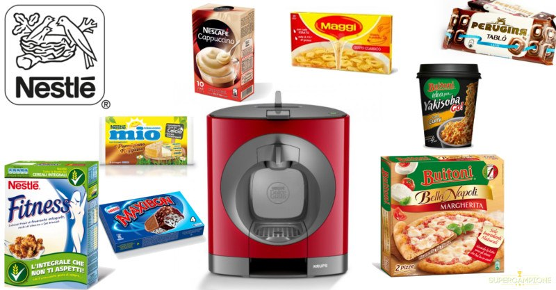 Vinci macchina da caffè Nescafé con Nestlé