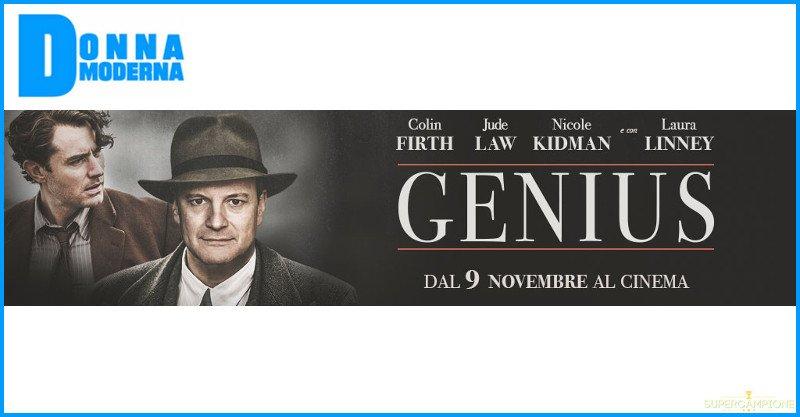 Biglietti cinema gratis per Genius