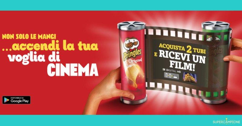 Film in HD gratis con Pringles