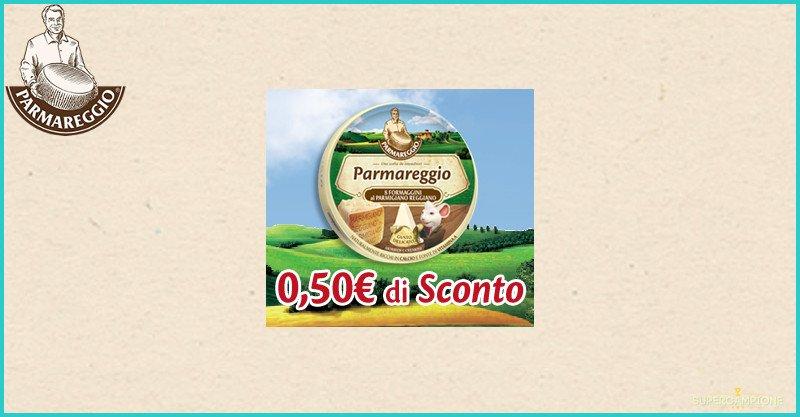 Supercampione - Buoni spesa Formaggini Parmareggio da 0,50€