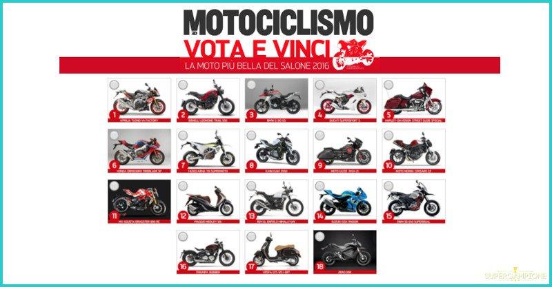 Vinci gratis la Moto più bella del Salone