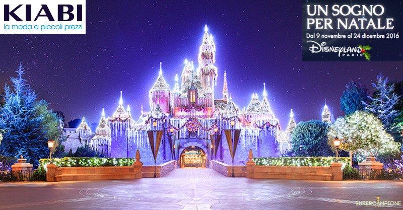 Kiabi: vinci gratis Disneyland Paris