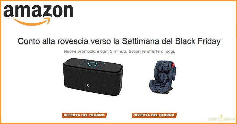 Offerte Amazon in attesa della settimana Black Friday 2016