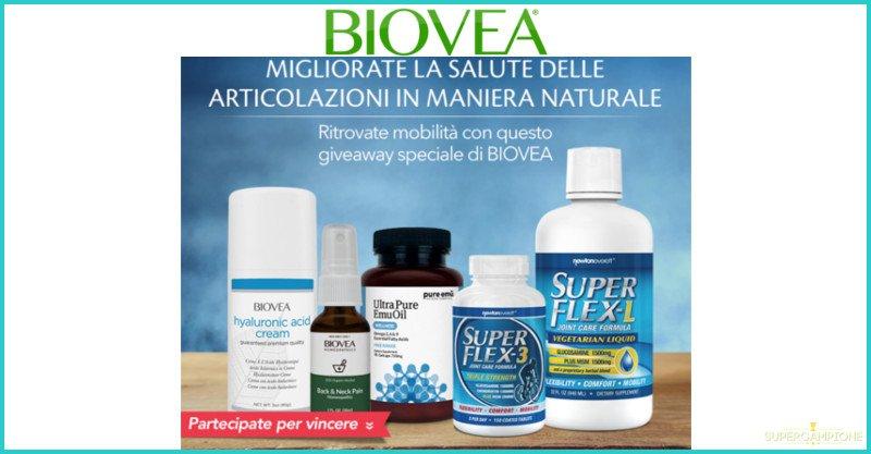 Vinci gratis kit Biovea per le articolazioni