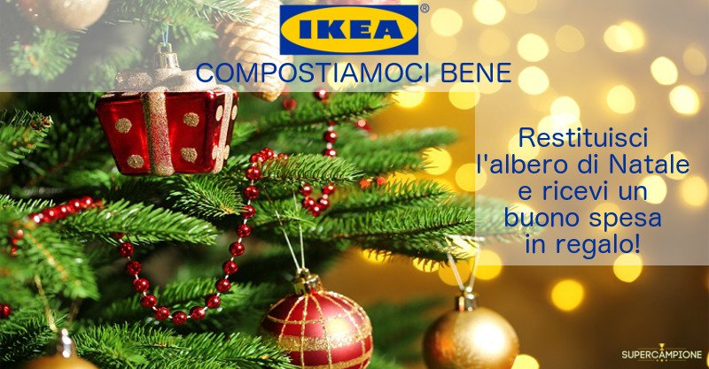 Ikea Compostiamoci bene: buono spesa omaggio