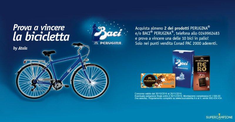 Concorso Conad Vinci La Bicicletta Baci Perugina Supercampione 2019
