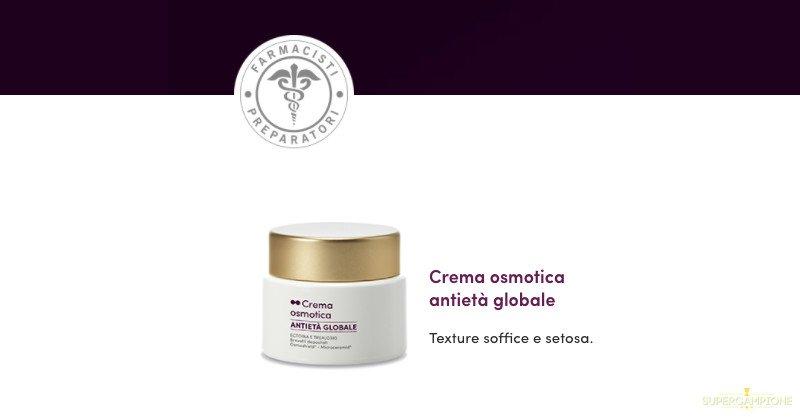 Campioni omaggio Crema osmotica antietà globale