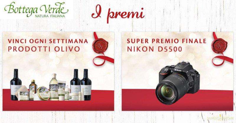 Bottega Verde: vinci gratis kit di prodotti e Nikon d5500