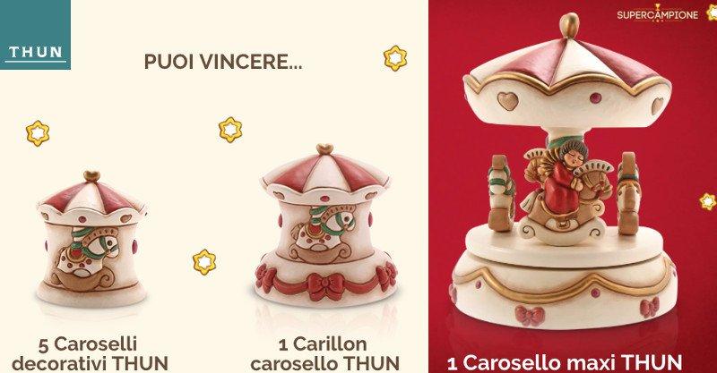 Thun: vinci gratis Caroselli e Carillon