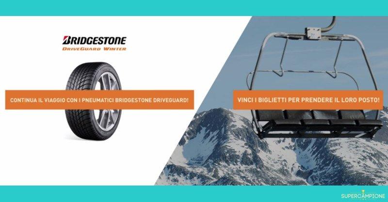 Bridgestone: vinci gratis viaggio da 3000€