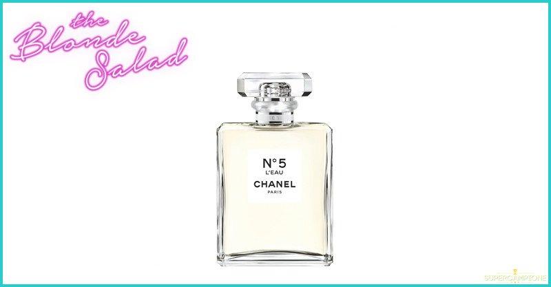 Campioni omaggio Chanel N° 5 L'Eau