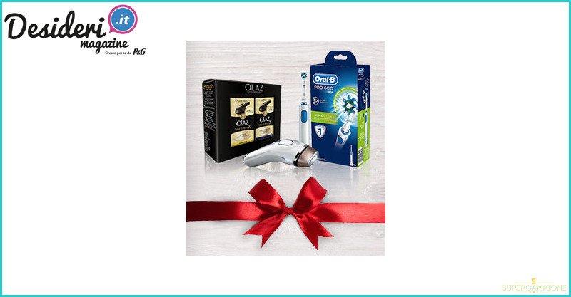 Vinci gratis epilatori, spazzolini e cofanetti Olaz