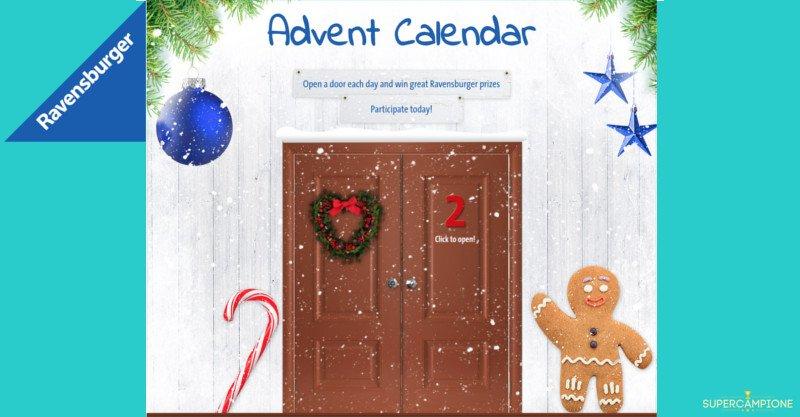 Calendario dell'Avvento Ravensburger: vinci gratis giochi