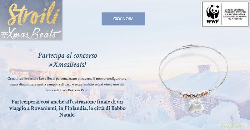Concorso Stroili: vinci gratis bracciali Love Beats