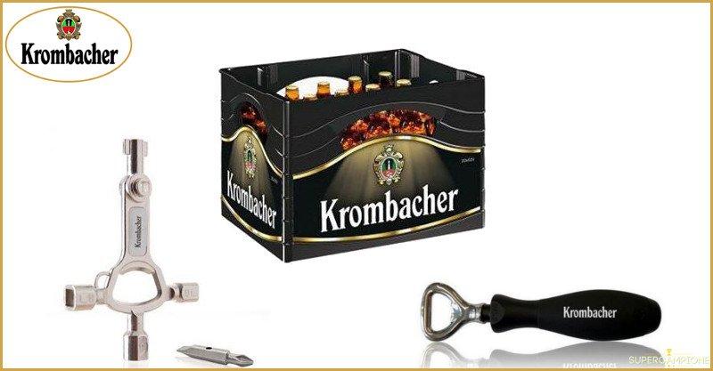 Calendario dell'Avvento Krombacher: vinci ogni giorno birre e gadget