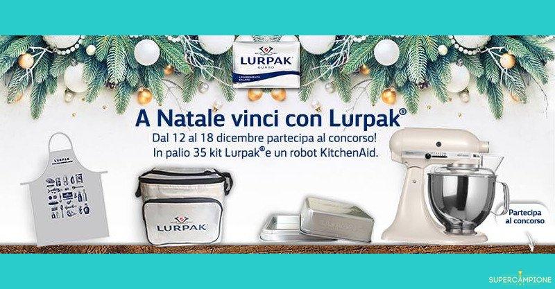 Vinci gratis robot KitchenAid o kit Lurpak