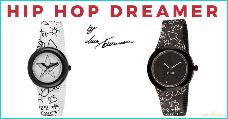 Vinci gratis un orologio Hip-hop Dreamer