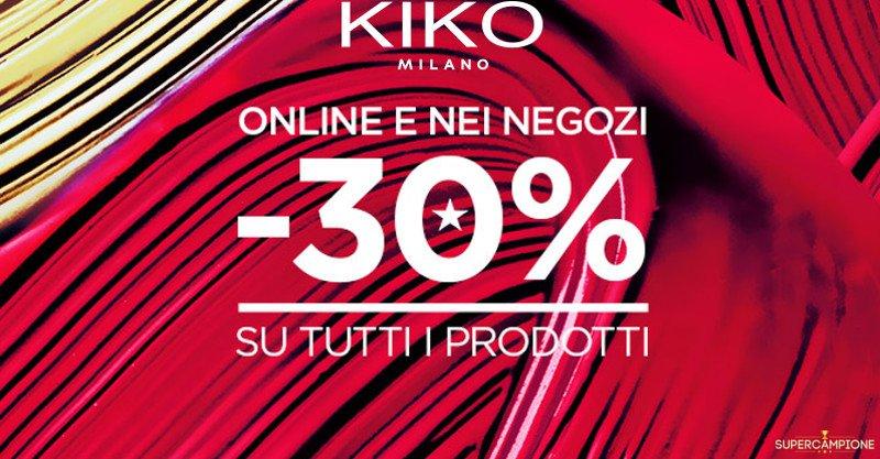 Buono spesa Kiko del 30%