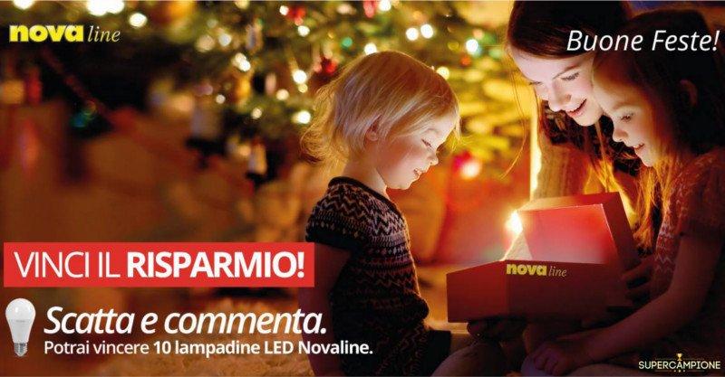 Nova Line: vinci gratis set di 10 lampadine LED