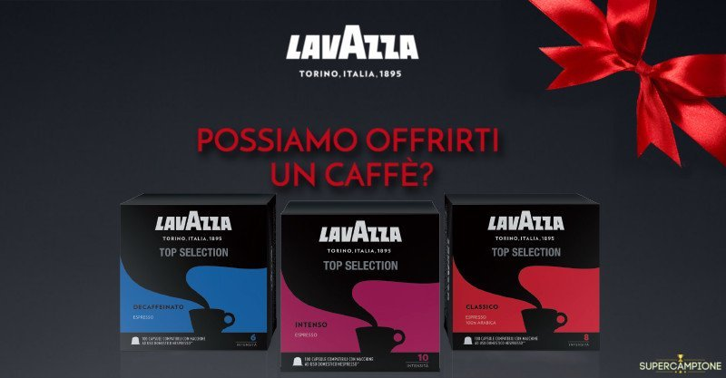 Campioni omaggio capsule caffè Lavazza