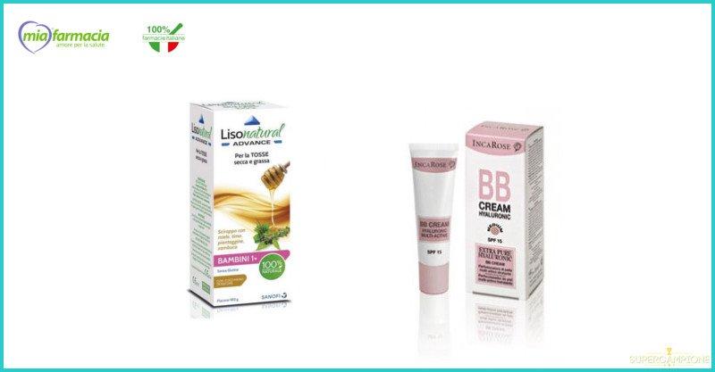 Supercampione - Campioni omaggio Incarose BB Cream e Lisonatural