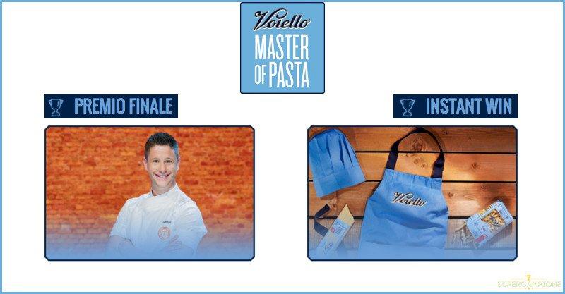 Concorso Voiello Master of Pasta: vinci kit e cene a domicilio