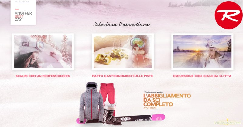 Supercampione - Concorso Rossignol: vinci gratis completi da sci e giornata sulla neve