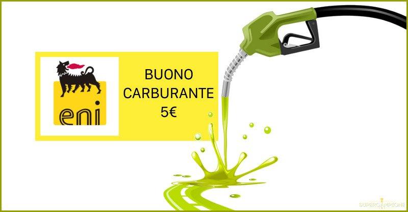 Ricevi gratis un buono carburante Eni da 5€