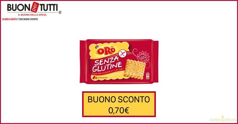 Supercampione - Buoni spesa Oro Saiwa senza glutine