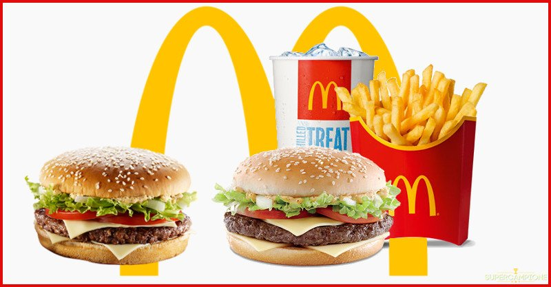 Supercampione - McDonald's: coupon sconto del 25% su Big Tasty