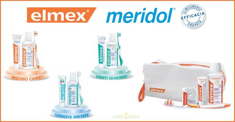 Supercampione - Elmex e Meridol regalano il set di igiene orale