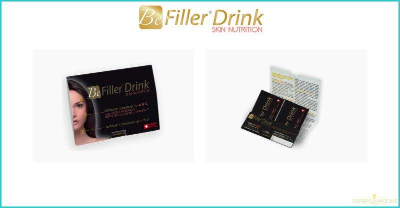 Campioni omaggio integratore BeFiller Drink
