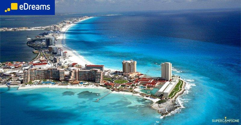 eDreams: vinci gratis un volo per 2 persone in Messico