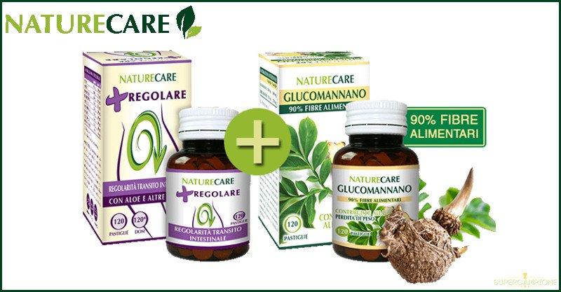 Campioni omaggio integratore alimentare Naturecare