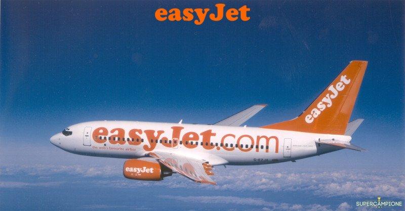 Vinci gratis un volo per 2 persone con easyJet