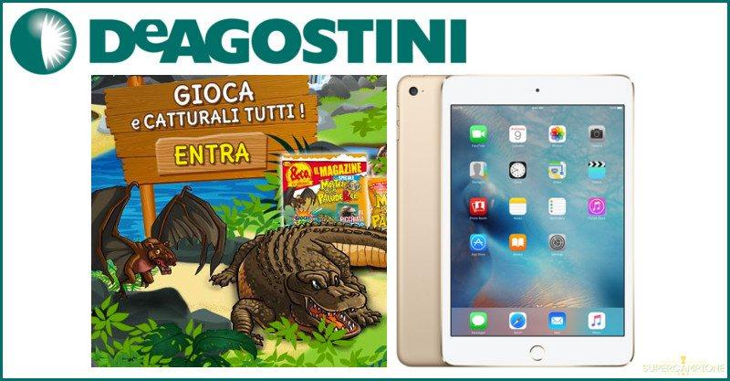 Supercampione - Vinci gratis un iPad Mini 4 con De Agostini