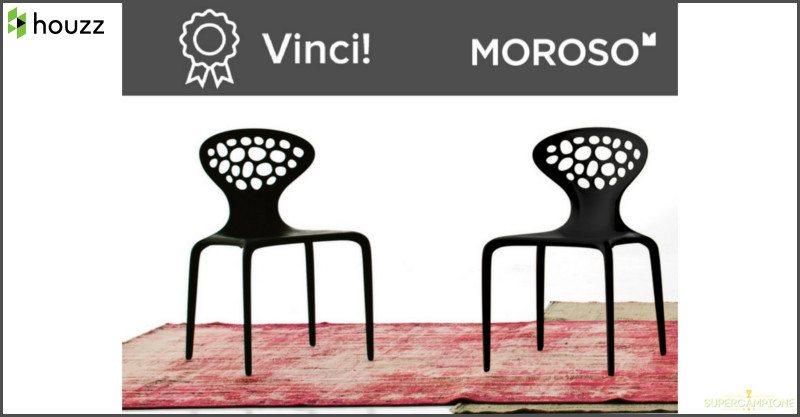 Vinci gratis 2 sedie Moroso
